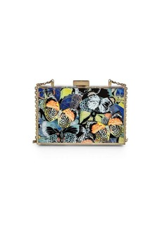 Valentino Butterfly Acrylic Minaudiere