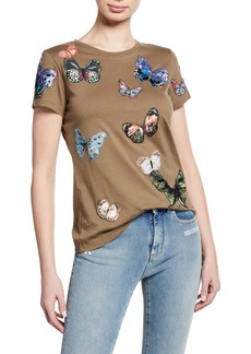Valentino Butterfly Tee