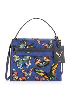 Valentino Butterfly Top Handle Bag