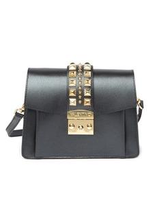 Valentino by Mario Valentino Adin Palmellato Studded Leather Crossbody Bag