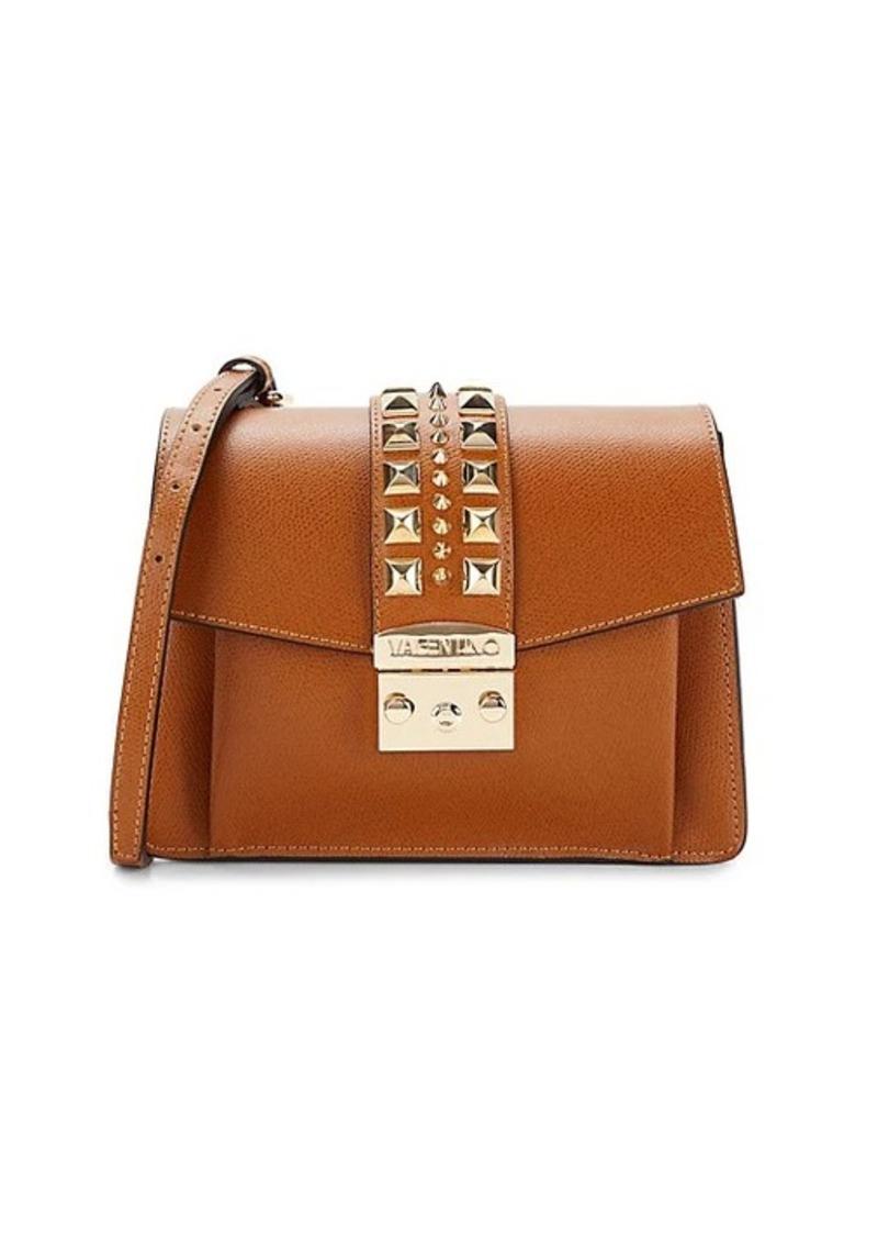 Valentino by Mario Valentino Adin Studded Leather Box Crossbody Bag