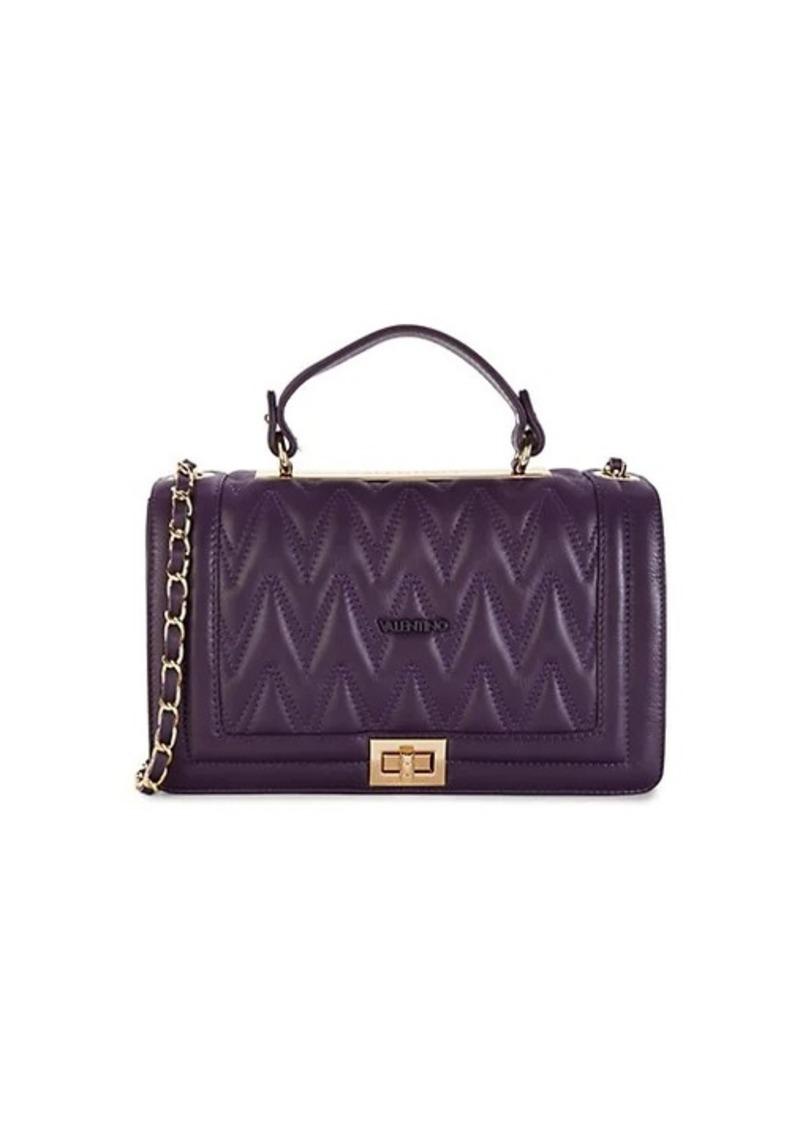 Valentino by Mario Valentino Alice Chevron-Quilted Leather Crossbody Bag