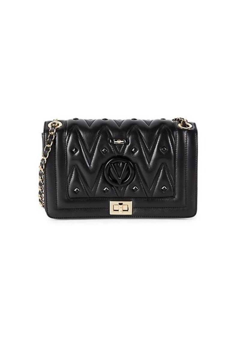Valentino by Mario Valentino Alice D Studded Leather Crossbody Bag