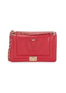 Valentino by Mario Valentino Alice Logo Leather Shoulder Bag