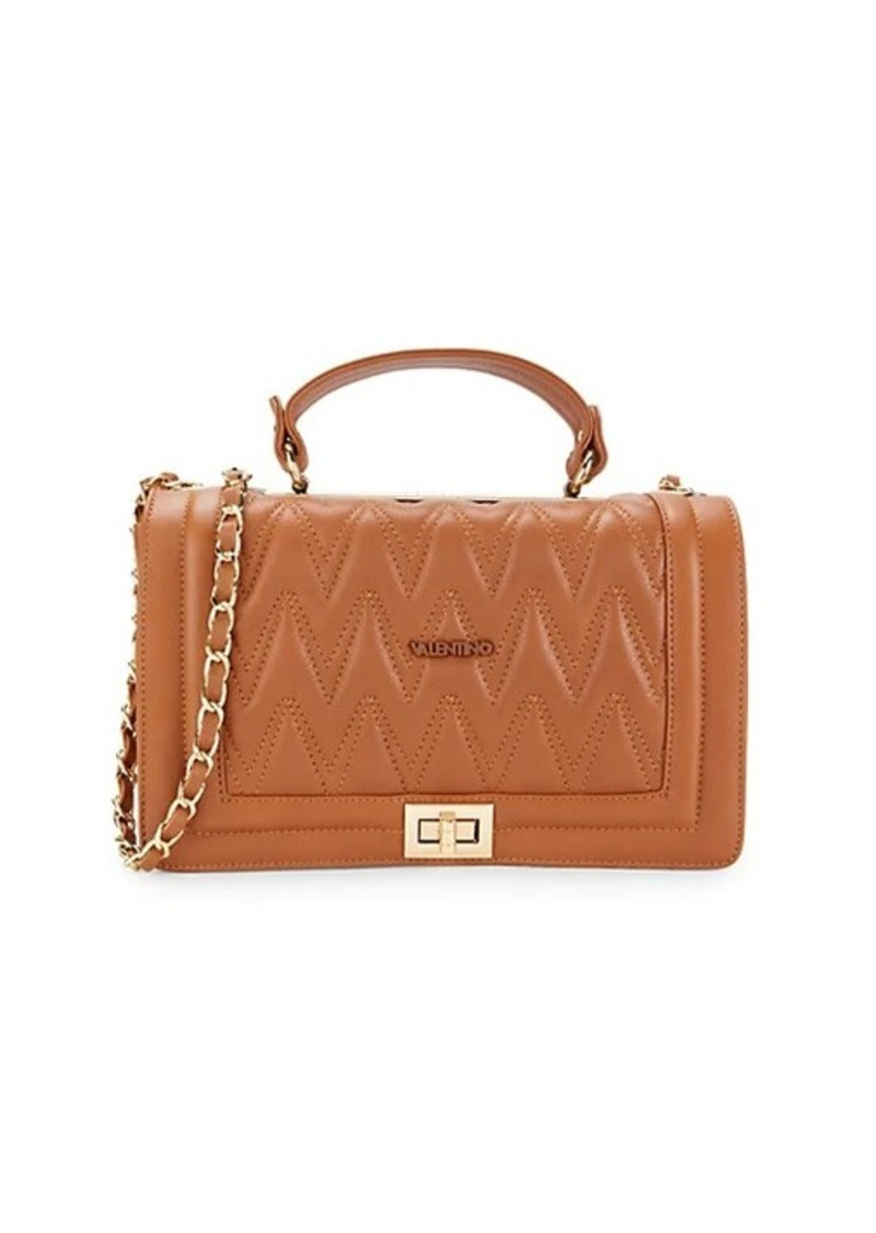 Valentino by Mario Valentino Alice Quilted Leather Top Handle Bag