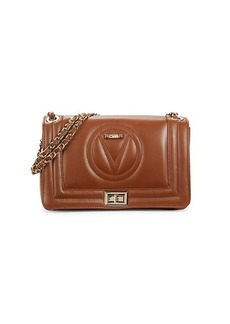 Valentino by Mario Valentino Alice Quilted Logo Chain Shoulder Bag