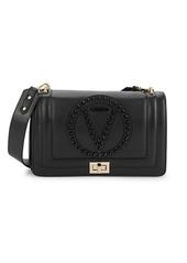 Valentino by Mario Valentino Alice Rock Leather Shoulder Bag