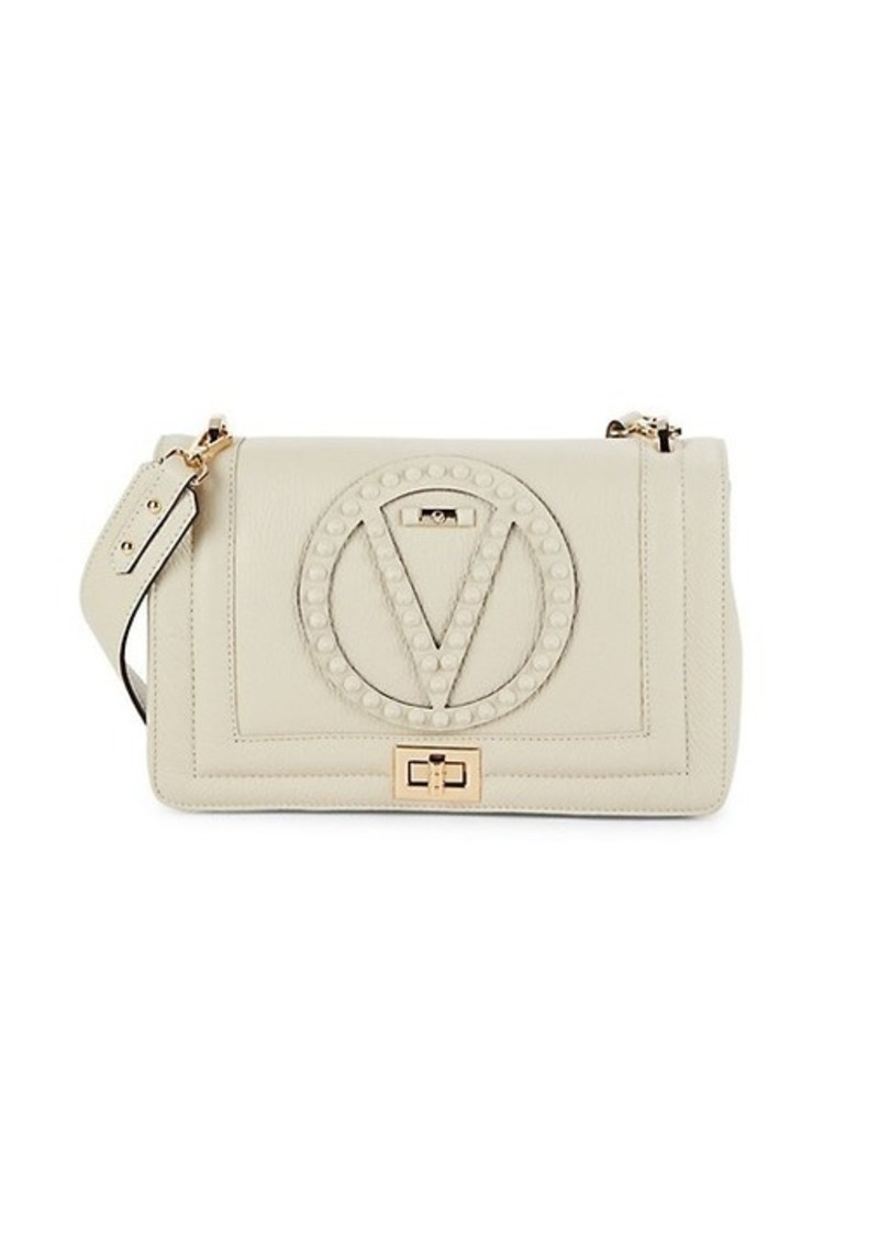 Valentino by Mario Valentino Alice Rockstud Leather Shoulder Bag