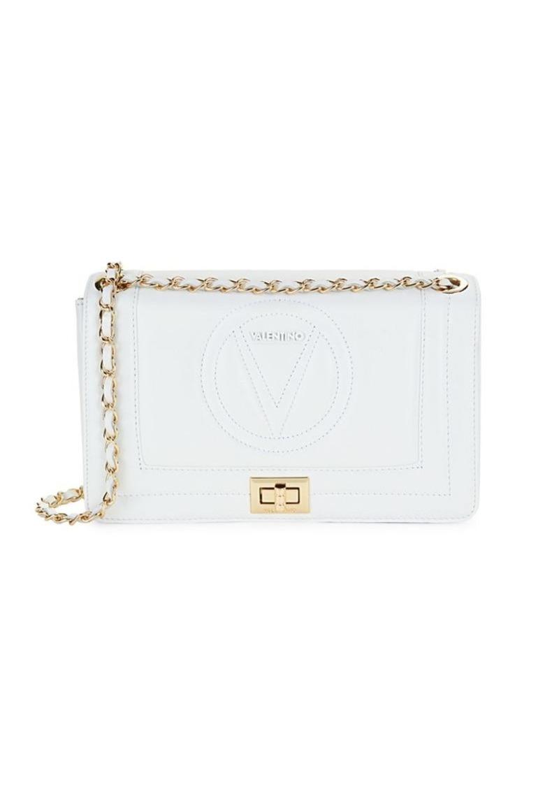 Valentino by Mario Valentino Alice Sauvage Leather Chain Shoulder Bag