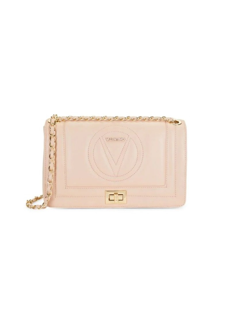 Valentino by Mario Valentino Alice Sauvage Logo Quilted Shoulder Bag