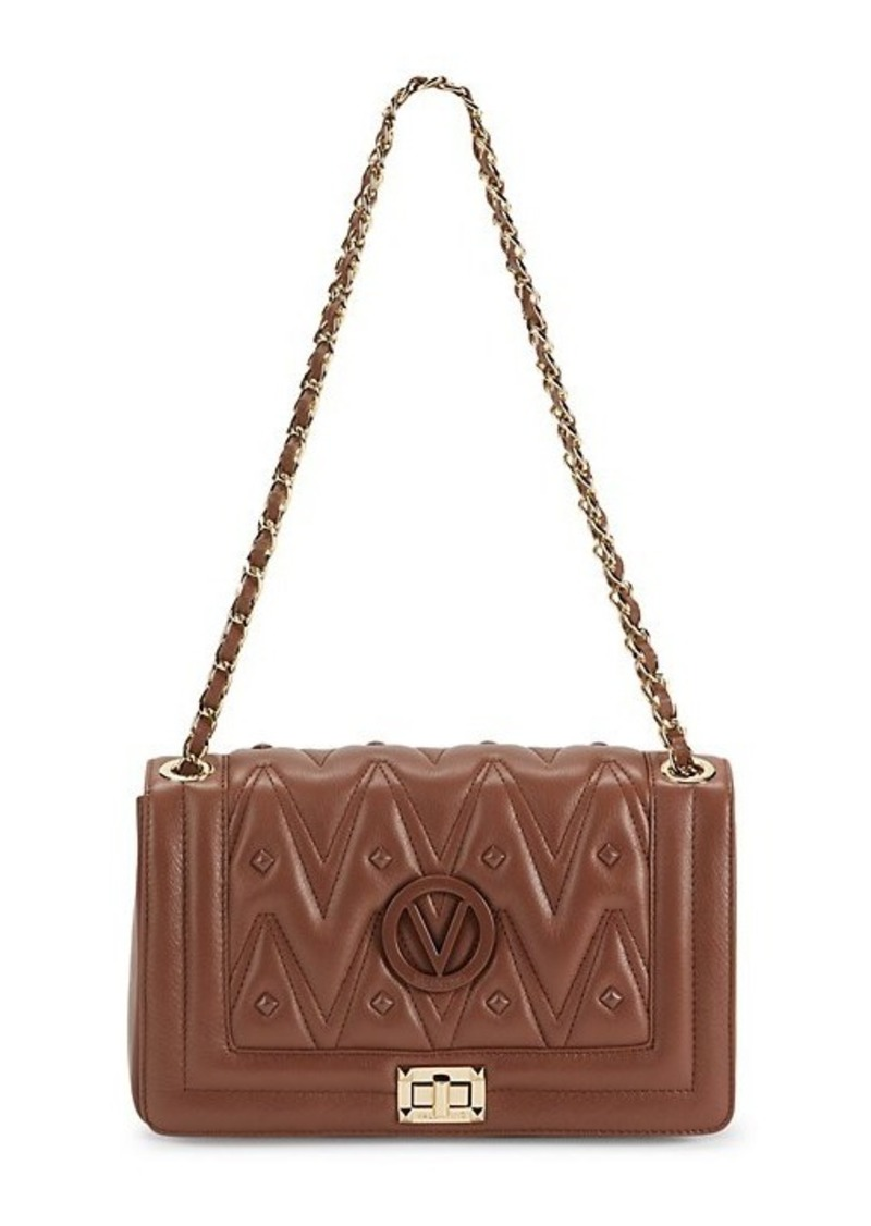 Valentino by Mario Valentino Alice Studded Leather Shoulder Bag