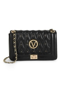 Valentino by Mario Valentino Aliced Quilted Leather Crossbody Bag