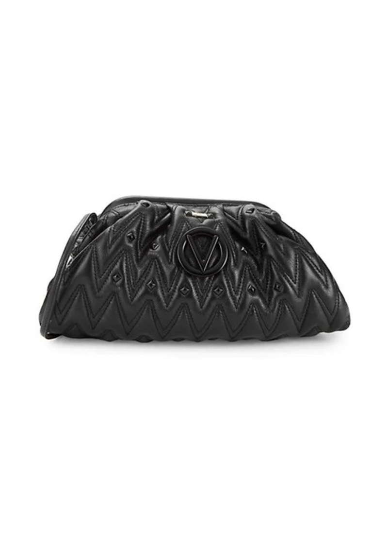 Valentino by Mario Valentino Anais Quilted Leather Crossbody Clutch