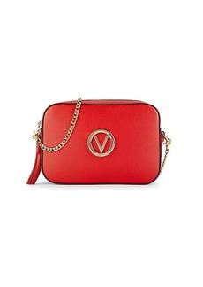 Valentino by Mario Valentino Andree Logo Leather Crossbody Bag