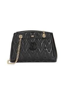 Valentino by Mario Valentino Angelina D Quilted Leather Shoulder Bag