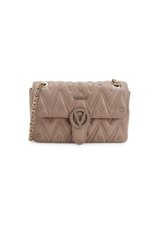 Valentino by Mario Valentino Antoinette D Sauvage Studded Leather Shoulder Bag