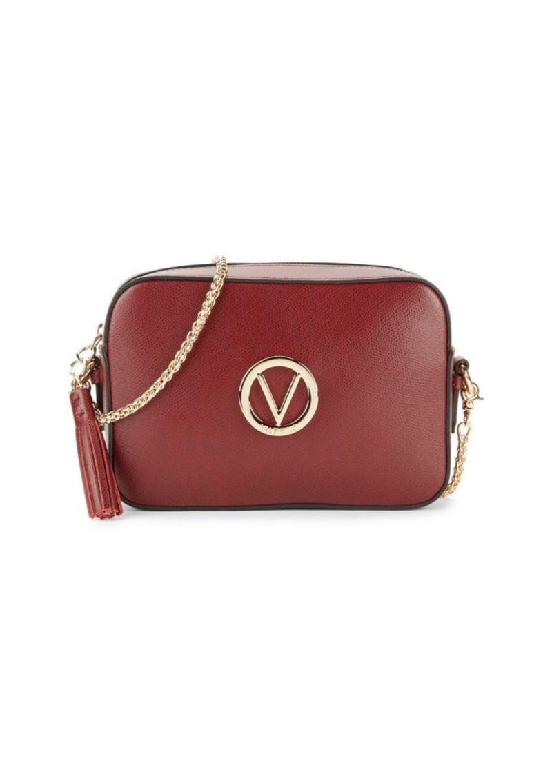 Valentino by Mario Valentino Babette Leather Camera Bag