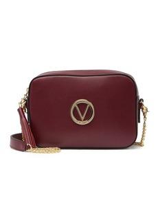 Valentino by Mario Valentino Babette Palmellato Leather Tassel Crossbody Bag