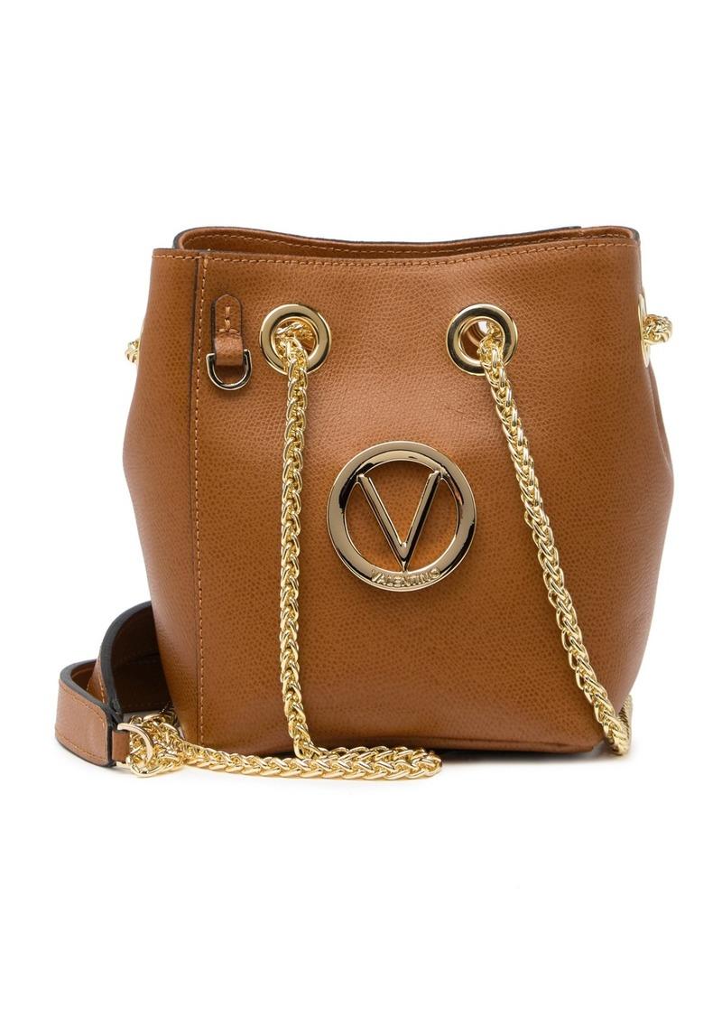 Valentino by Mario Valentino Babou Palmellato Leather Crossbody Bag