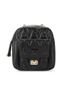 Valentino by Mario Valentino Balzac D Sauvage Studded Convertible Backpack