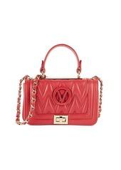 Valentino by Mario Valentino Beatriz D Leather Shoulder Bag