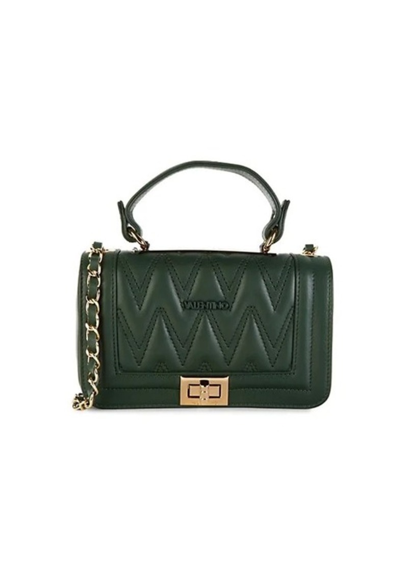 Valentino by Mario Valentino Beatriz D Quilted Leather Crossbody Bag
