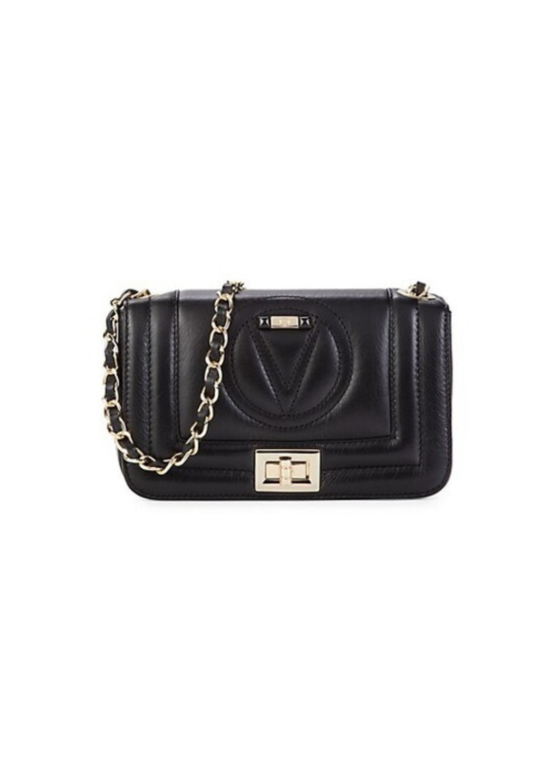 Valentino by Mario Valentino Beatriz Leather Crossbody Bag