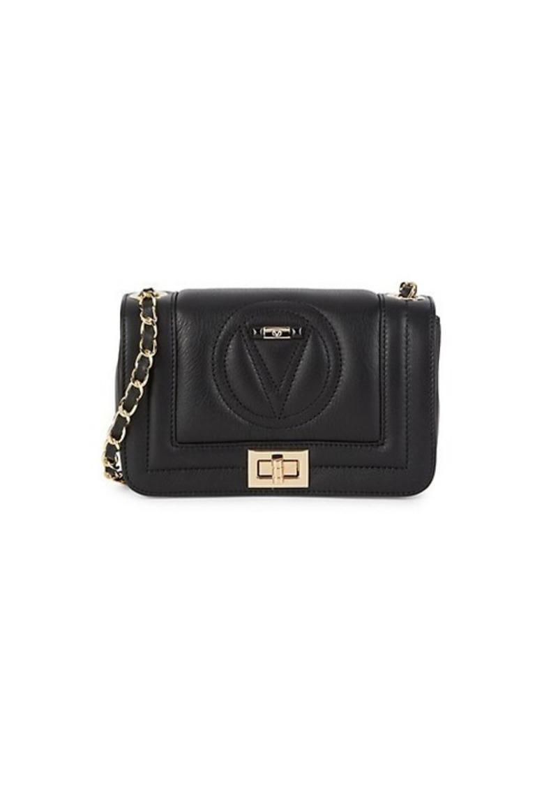 Valentino by Mario Valentino Beatriz Logo Leather Crossbody Bag
