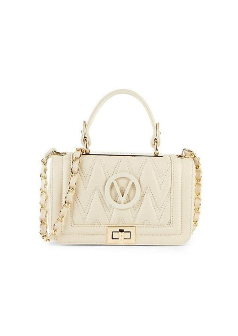 Valentino by Mario Valentino Beatriz Quilted Chevron Leather Shoulder Bag