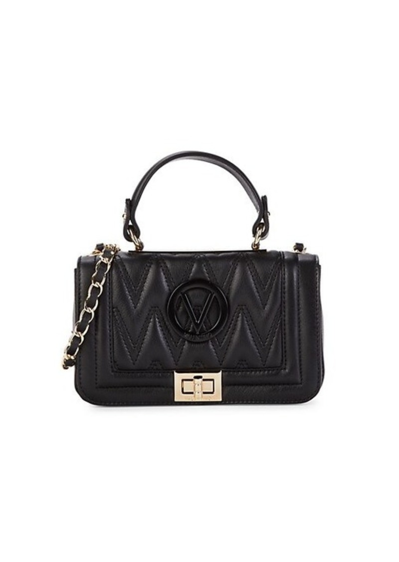 Valentino by Mario Valentino Beatriz Quilted Leather Crossbody Bag