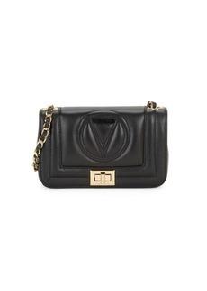 Valentino by Mario Valentino Beatriz Sauvage Quilted Logo Crossbody Bag