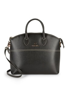 Valentino by Mario Valentino Bravia Leather Top-Handle Bag