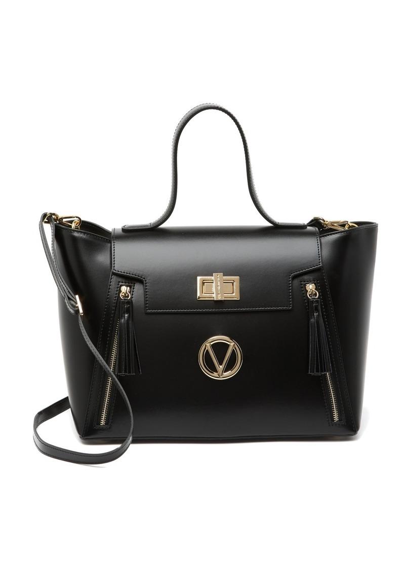 Valentino by Mario Valentino Camila Soave Leather Satchel Bag