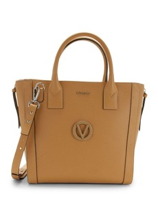 Valentino by Mario Valentino Charmont Pebbled Leather Convertible Tote