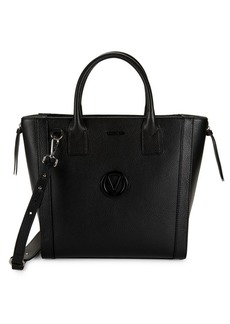 Valentino by Mario Valentino Charmont Pebbled Leather Tote