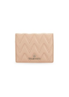 Valentino by Mario Valentino Chevron Quilted French Wallet