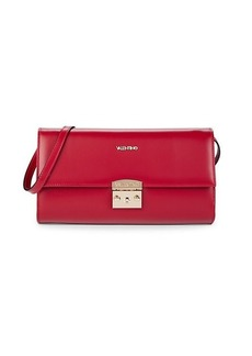 Valentino by Mario Valentino Cocotte Leather Convertible Clutch