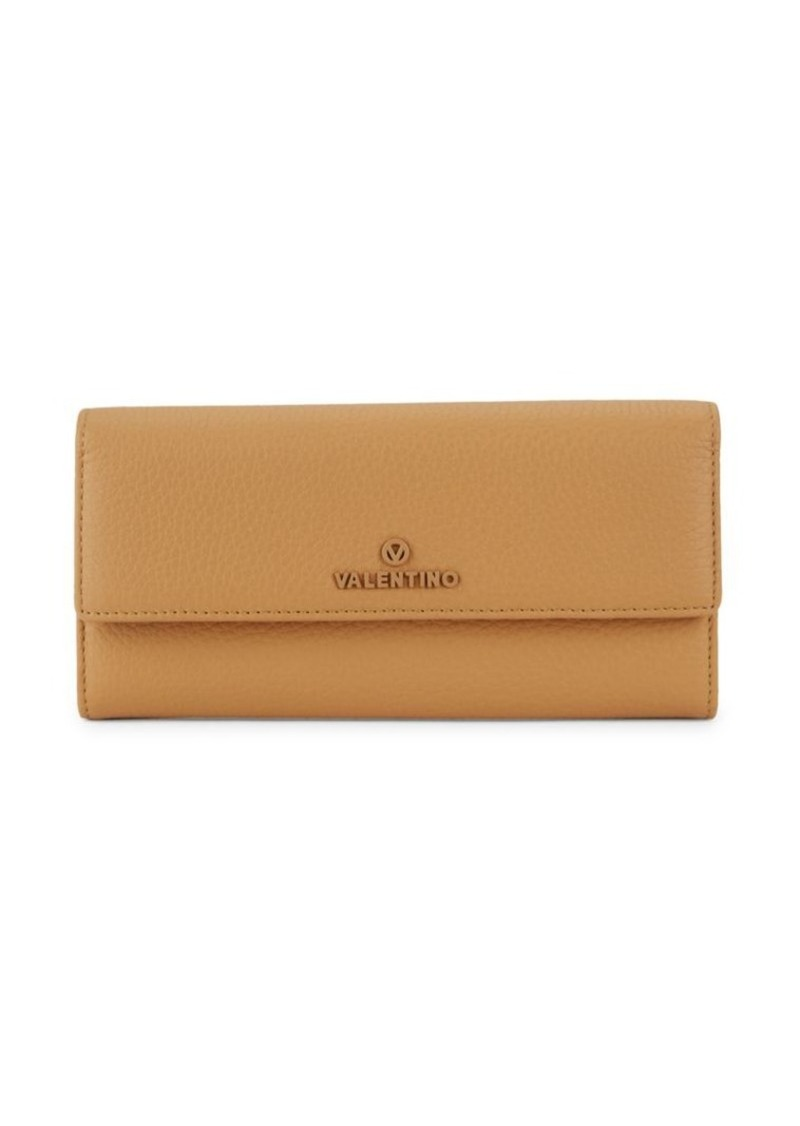 Valentino by Mario Valentino Collins Leather Continental Wallet