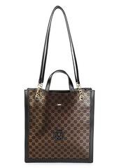 Valentino by Mario Valentino Coraline Monogram Leather Shoulder Bag