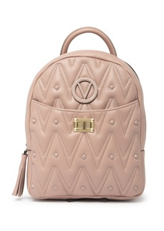 Valentino by Mario Valentino Cosmo D Quilted Leather Backpack