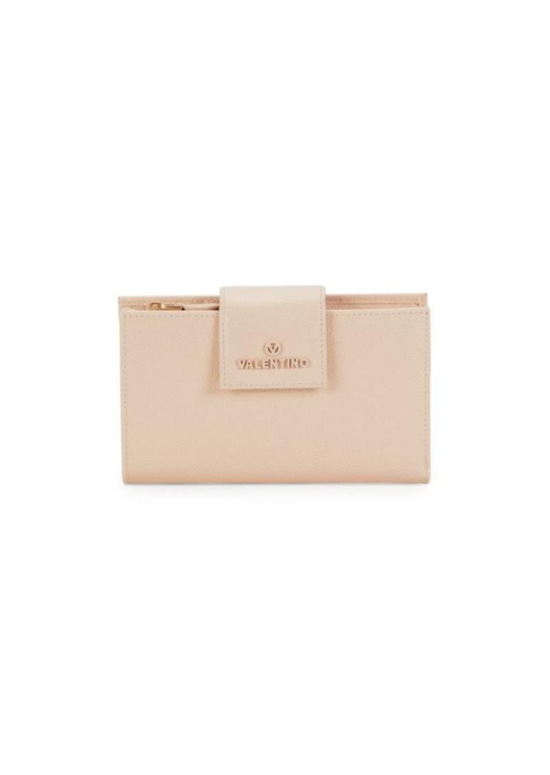 Valentino by Mario Valentino Elton Palmelleto Leather Wallet