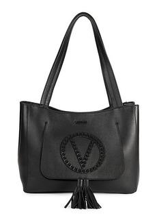 Valentino by Mario Valentino Estelle Rock Leather Tote