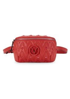 Valentino by Mario Valentino Fanny Studded Leather Belt Bag