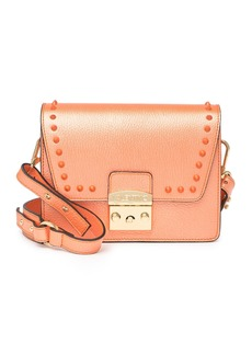 Valentino by Mario Valentino Frizette Preciosa Studded Leather Shoulder Bag