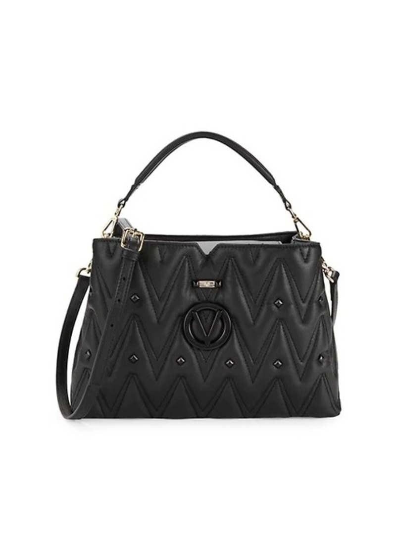 Valentino by Mario Valentino Heidi Quilted Leather Top Handle Bag
