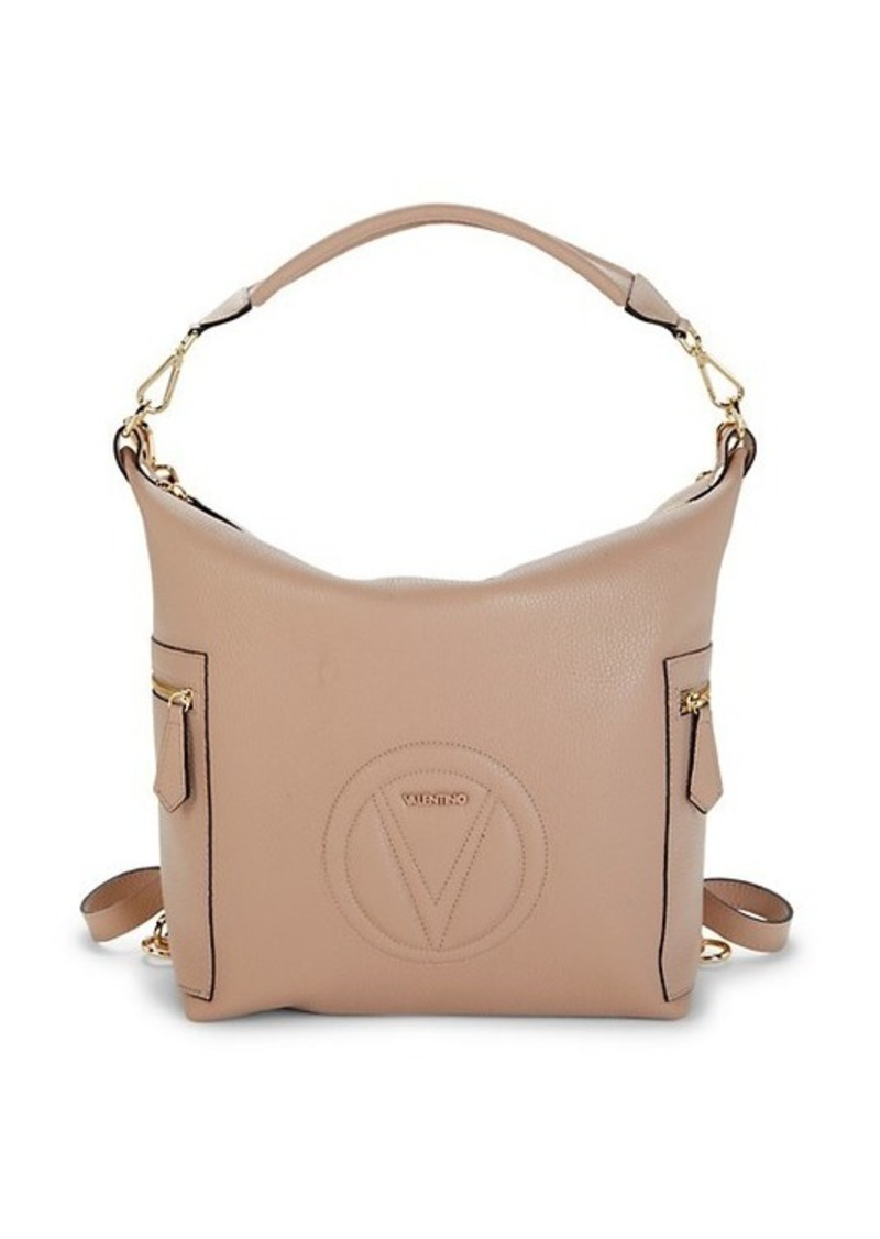 Valentino by Mario Valentino Helene Leather Convertible Top Handle Bag