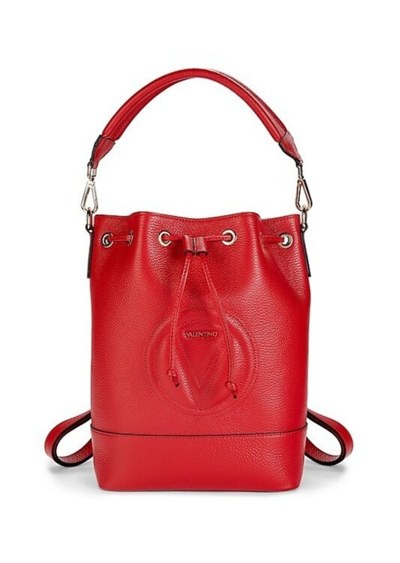 Valentino by Mario Valentino Jacotte Leather Bucket Bag