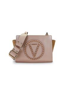 Valentino by Mario Valentino Kiki Rockstud Leather Crossbody