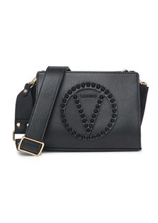 Valentino by Mario Valentino Kikki Rock Studded Leather Crossbody Bag