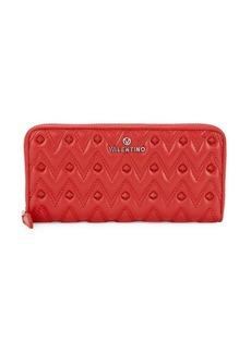 Valentino by Mario Valentino Leonardo Continental Zip Wallet